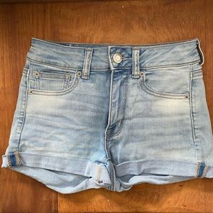 American Eagle High-Rise Shortie - Size 2